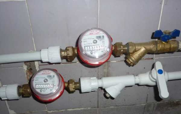 Установка счетчиков воды в частном доме закон